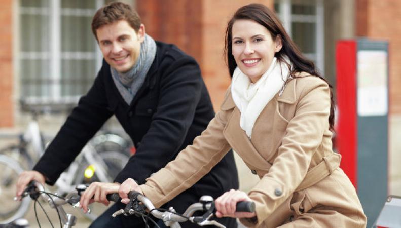 Жители на велосипедах