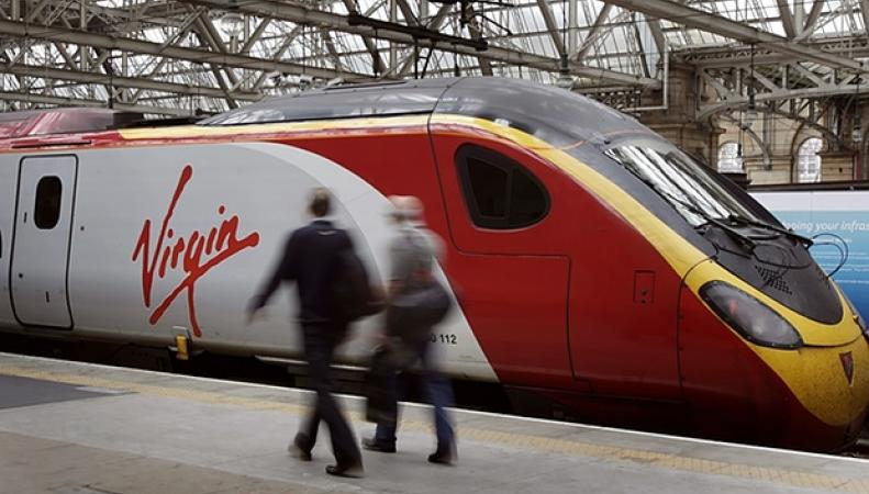 поезд Virgin
