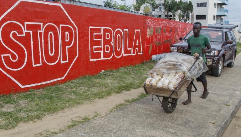 Распространение вируса Эбола