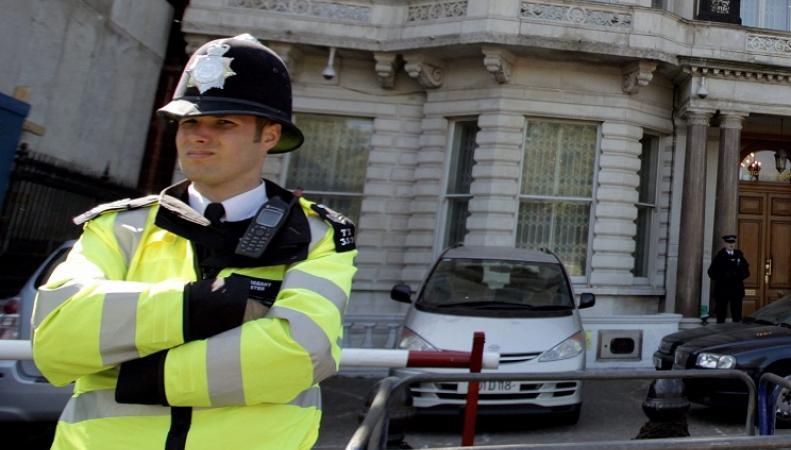 Британский полицейский