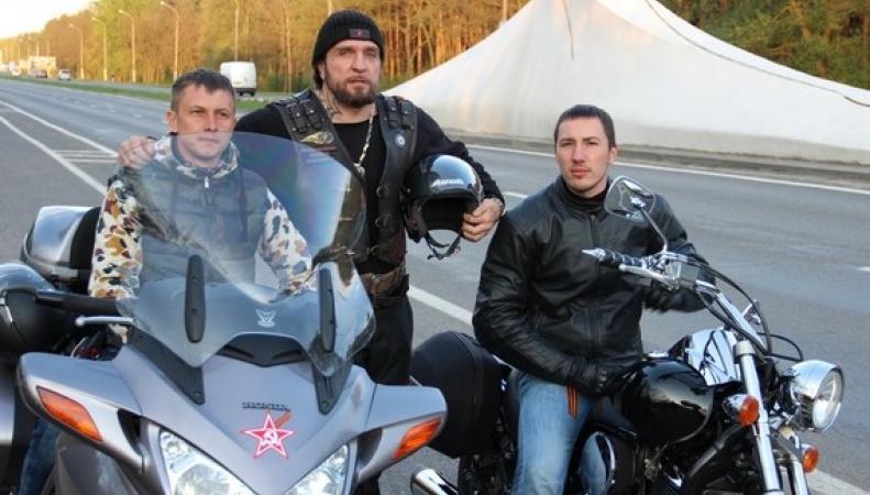 Ночные волки перешли границу Польши