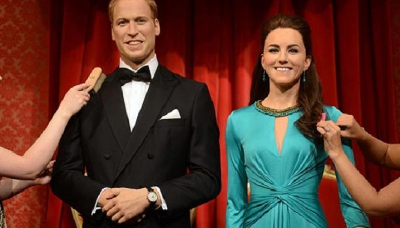 Восковые фигуры принца Уильяма и герцогини Кейт