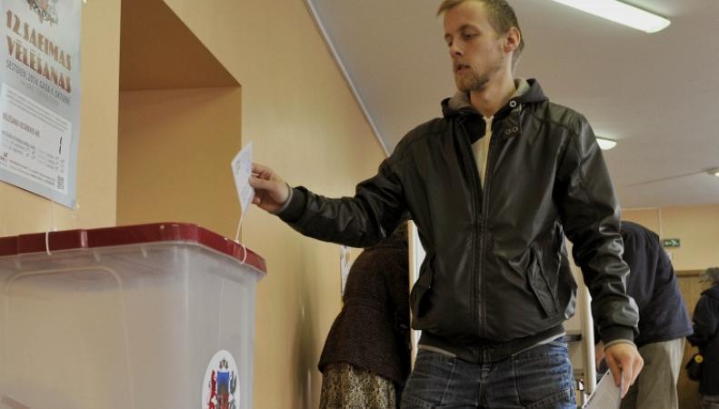 Выборы парламента в Латвии