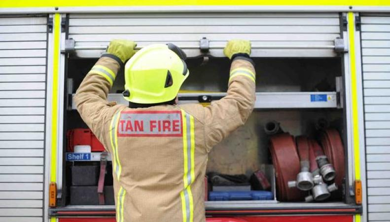 пожарные бригады в Уэльсе