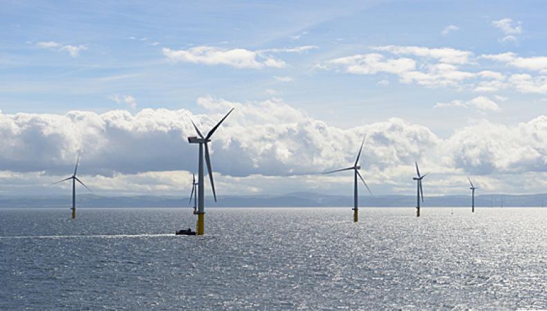 ветроэлектростанция  в Уэльсе