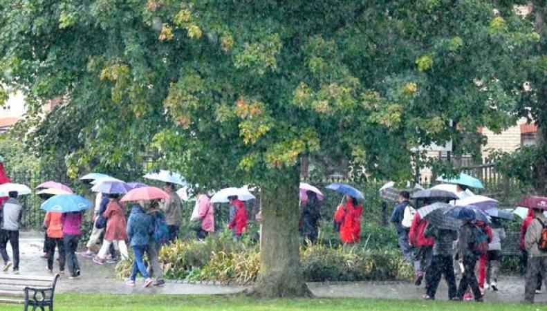 Дождливое лето в Лондоне