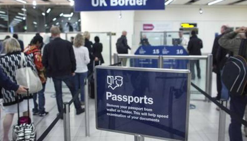 Пограничный паспортный контроль