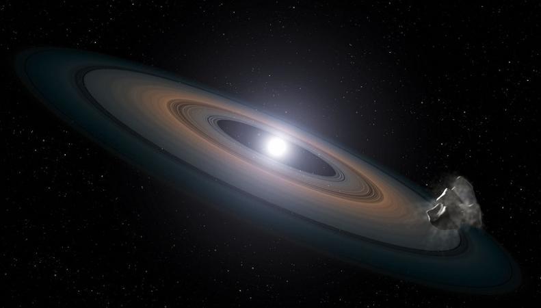 Ученые обнаружили белого карлика, который поглощает свою планетарную систему