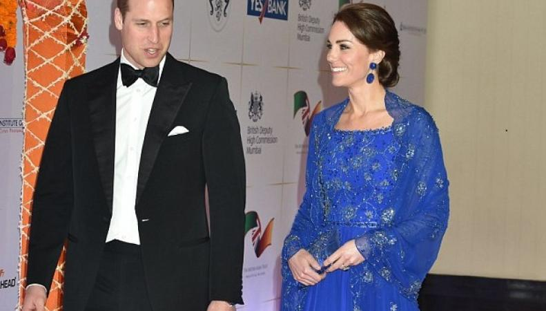 Уильям и Кейт в Мумбае