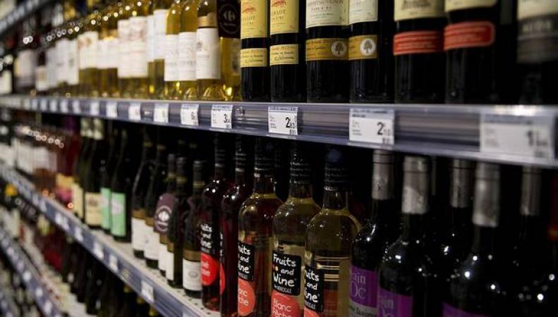 вино в супермаркетах