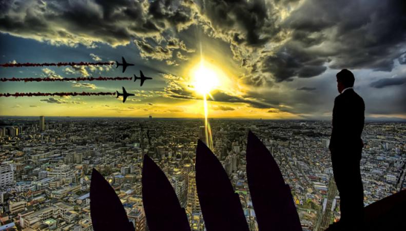 Война между Россией и Западом уничтожит Лондон