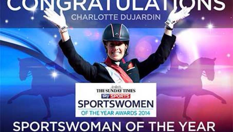 Шарлотт Дюжарден признана спортсменкой года в Великобритании