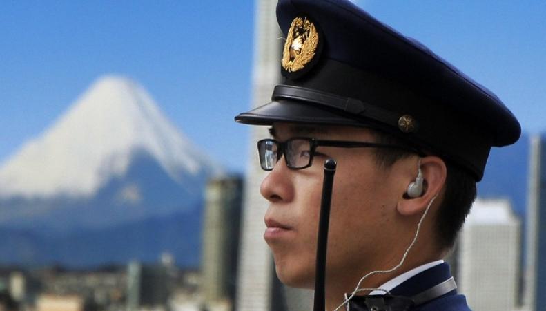 Японский полицейский