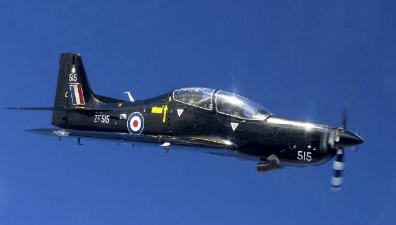 Тренировочный самолет британских ВВС