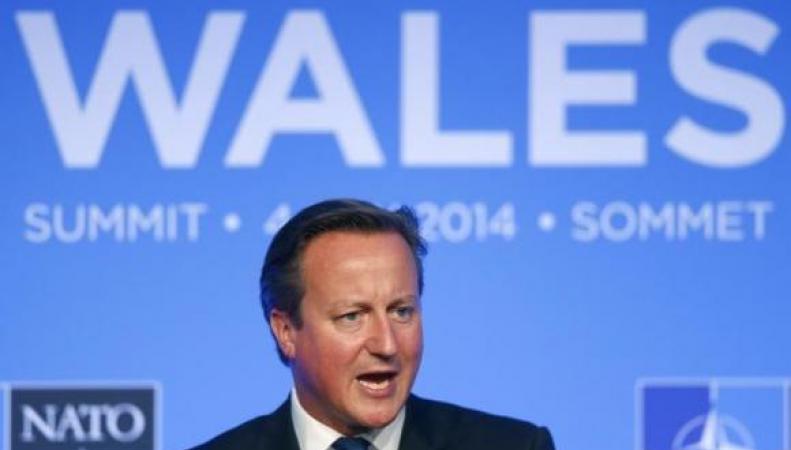 Дэвид Кэмерон на саммите НАТО