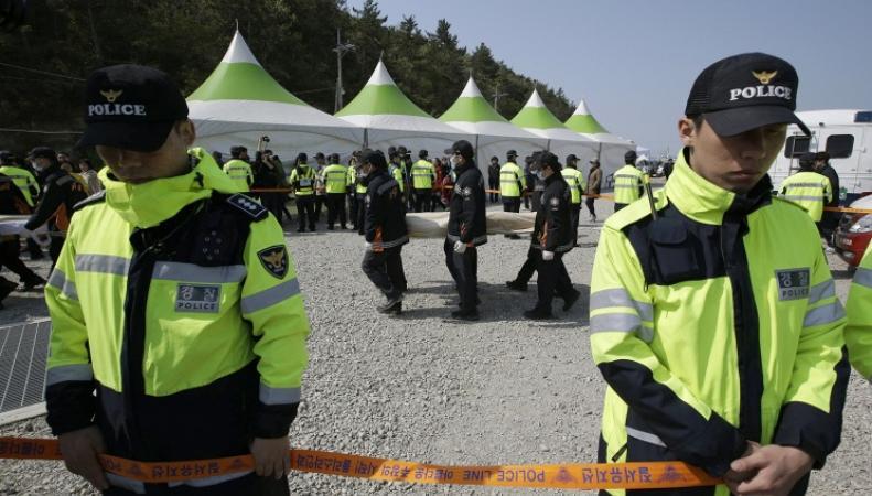 Полицейские Южной Кореи