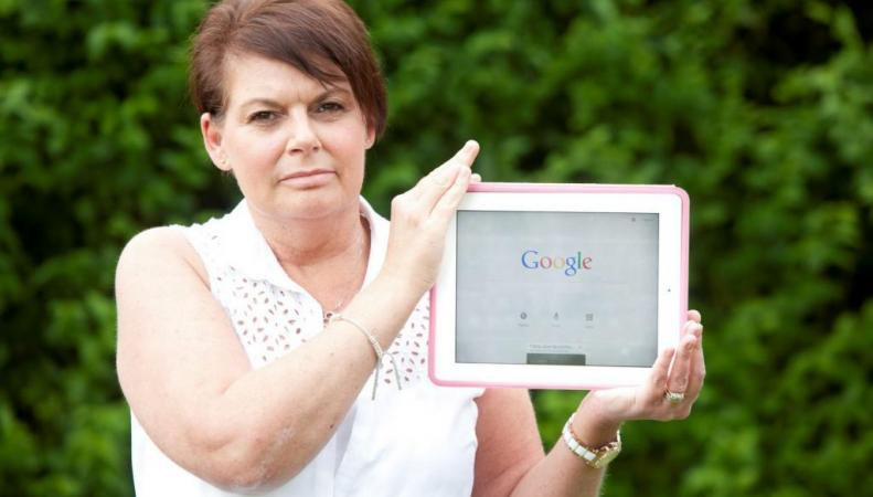 Женщина обнаружила рак благодаря Google