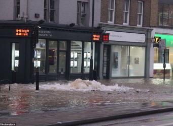 Наводнение в Ислингтоне