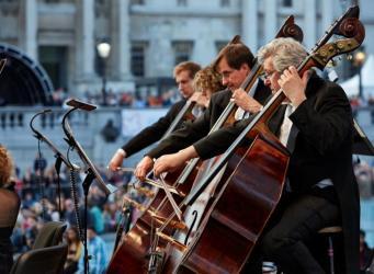 Валерий Гергиев выступит с Лондонским симфоническим оркестром на Трафальгар-сквер фото:bbc