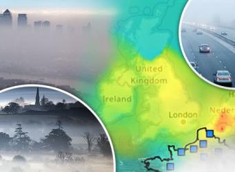 Метеобюро Великобритании предупредило о ночном тумане и смоге фото:express.co.uk