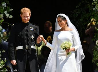 Свадьба Гарри и Меган: Церковь Англии освятила брак принца