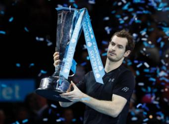 Энди Маррэй победил в финале Итогового турнира ATP фото:standard.co.uk