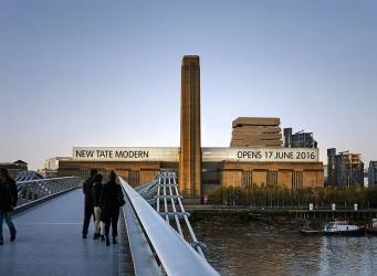 музей Tate Modern презентует новое здание