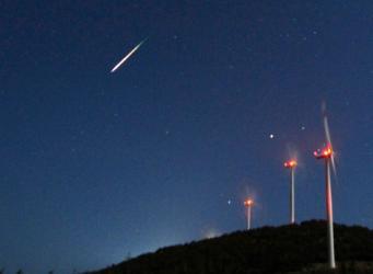 Метеоритный дождь пройдет в небе Англии в эти выходные фото:CBC