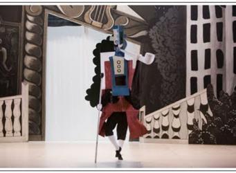 V&A показывает работы Пабло Пикассо для Русского Балета фото:pinterest