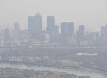 Экстренная экологическая ситуация объявлена в Лондоне из-за смога фото:standard.co.uk