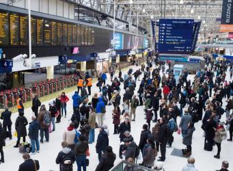 Движение поездов через вокзал Waterloo приостановлено до конца дня