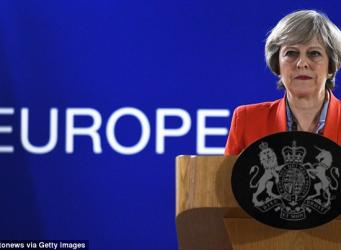 Тереза Мэй исключена из списка приглашенных на новогодний ужин глав государств ЕС фото:telegraph.co.uk