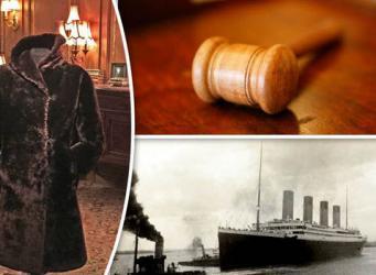 Шубка стюардессы «Титаника» продана на аукционе за баснословную сумму фото:express.co.uk